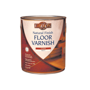 Liberon Natural Finish Floor Varnish