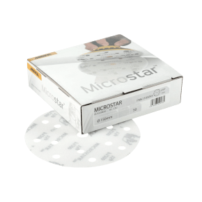 Mirka Microstar Film Discs 150mm 15H (Box of 50)