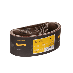 Mirka Hiolit XO Sanding Belt 75x533mm (Pack of 10)