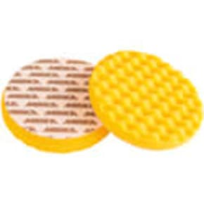 Mirka Polarshine Yellow Waffle Foam Pad 150mm (pack 2)