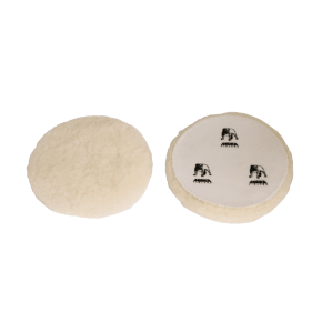 Mirka Polarshine Wool Polishing Pads (Grip) 150mm (Pack of 2)