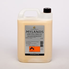 Mylands 2000 Pale Shellac Sanding Sealer 5L