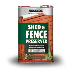 Ronseal Shed and Fence Preserver 5L