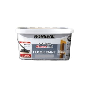 Ronseal Perfect Finish Diamond Hard Floor Paint 2.5L