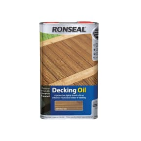 Ronseal Decking Oil 5L
