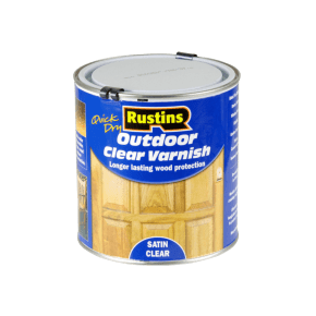 Rustins Quick Drying WB Exterior Varnish