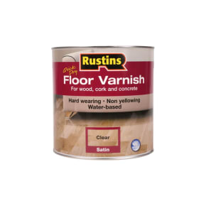 Rustins Quick Dry Floor Varnish 5L