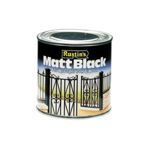 Rustins Quick Dry Black Paint