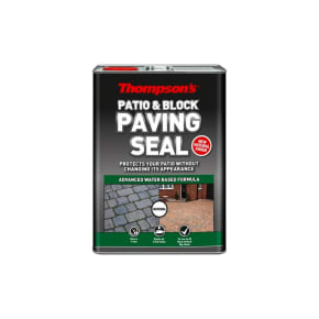 Thompson's Patio & Block Paving Seal Natural Finish 5L