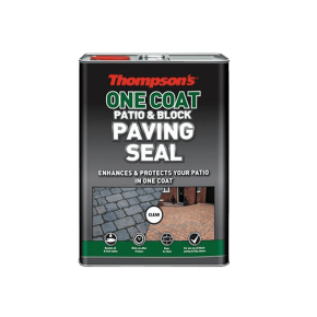 Thompson's One Coat Patio & Block Paving Seal Clear 5L