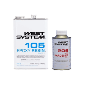 West System Epoxy 105/206 Slow