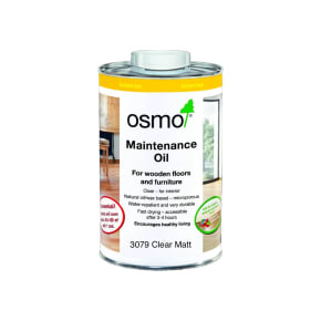 Osmo Maintenance Oil Clear Matt 3079 1L