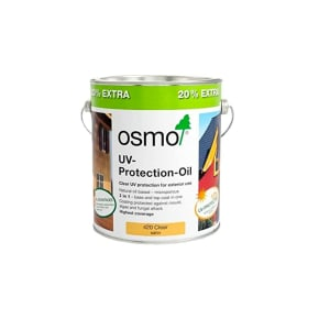 Osmo UV Protection Oil Extra 420 Clear 3L - 20% Extra FREE