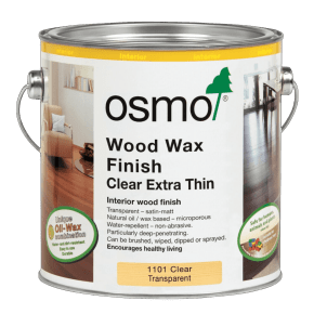 Osmo Extra Thin Wood Wax Finish 1101 Clear