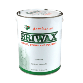 Briwax Signature Wax English Pine 5L
