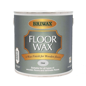 Briwax Floor Wax Clear 2.5L