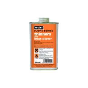 Rustins Plastic Coating Thinners - 500ml