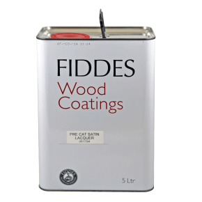 Fiddes HCF Pre Cat Lacquer Clear Satin 5L