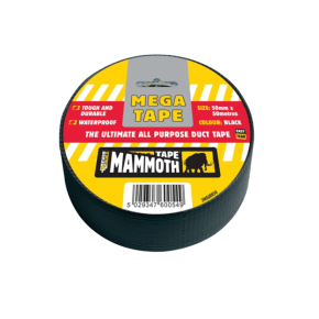 Everbuild Mega All Purpose Duct Tape 50mm x 50m - Black