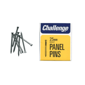 Challenge Bright Steel Panel Pins - 25mm 50g