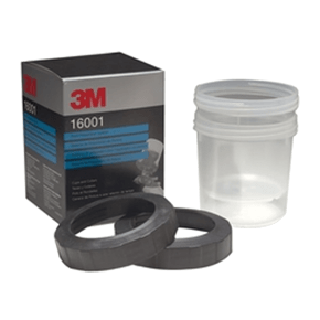 3M 16001 Cups and Collars (Pack of 2)
