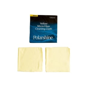 Mirka Polarshine Microfibre Polishing Cloths (Pack of 2)