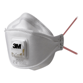 3M Dust Mask with Valve (Pack of 10)
