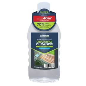 Barrettine Super Concentrated Decking Cleaner 500ml