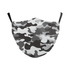 Camo Pattern Reusable Face Mask
