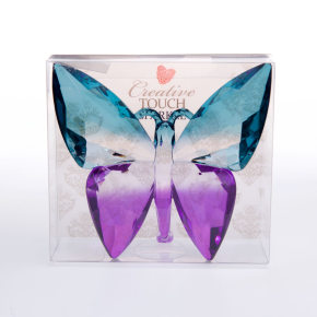 Butterfly Teal/Purple