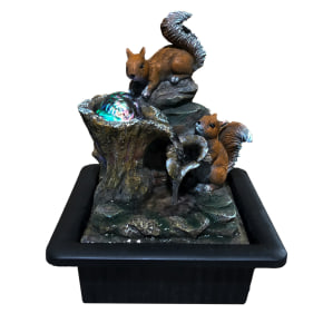 Red Squirrels Fountain