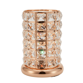 Clear-Rose Gold Crystal Touch Lamp, 12/box