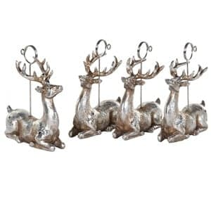 Coach House Set of 4 Deer Place Card Holders
