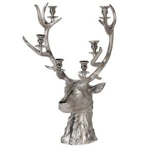 Coach House Medium Reindeer Candle Holder