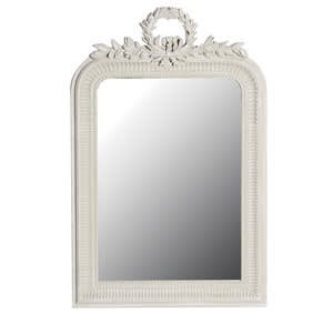 Coach House Elegant Leaves Wreath Mirror