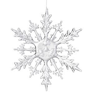 Coach House Acrylic Hanging Snowflake