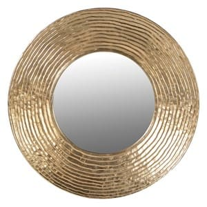 Coach House Gold Circle Mirror