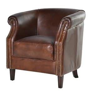 Coach House Mayfair Vintage Leather Armchair