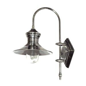 Coach House Pewter Ship's Outdoor Wall Light