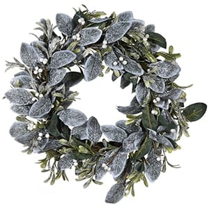 Coach House Frosted Eucalyptus Wreath