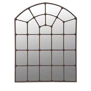 Coach House Arch Window Mirror