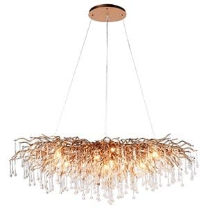Coach House Droplet Branch Chandelier