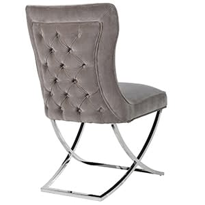 Coach House 'Mouse Grey' Dining Chair