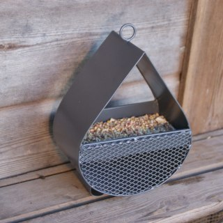 Raindrop Bird Feeder - Slate