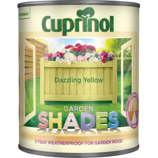 Cuprinol Garden Shades  - Dazzling Yellow