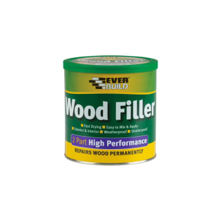 Everbuild 2 Part High Performance Woodfiller 500g