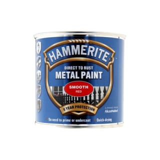 Hammerite Direct To Rust Metal Paint Smooth Red