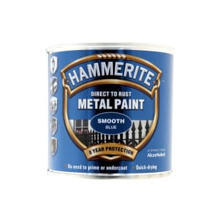 Hammerite Direct To Rust Metal Paint Smooth Blue