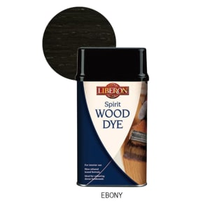 Liberon Spirit Wood dye - Ebony