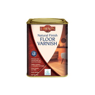 Liberon Natural Finish Floor Varnish 2.5L